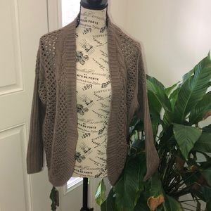 Olive & Oak Cable Knit Cardigan Sweater